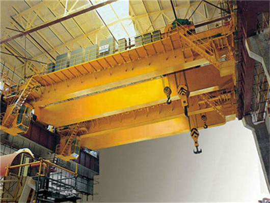 QD type bridge crane with hook