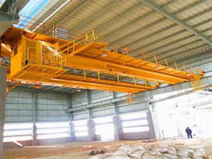 EOT double girder crane from Weihua