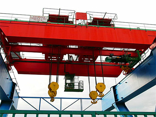 Double girder overhead cranes for sales