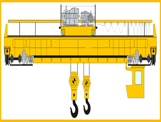 QD type double crane for sale