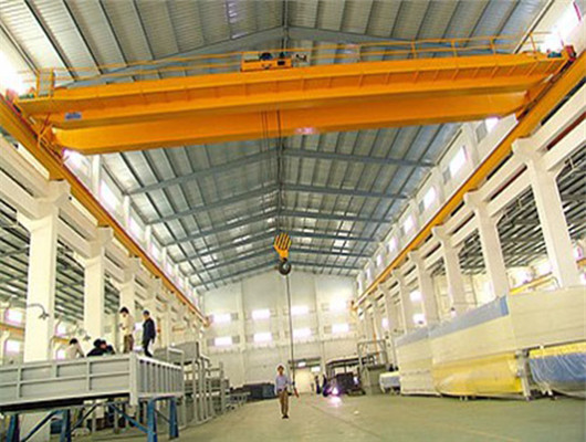 Double girder hoist overhead crane for sale