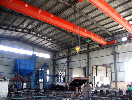 Industrial electric overhead crane