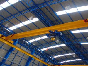 Single girder Eot crane for sale