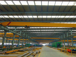 Single girder warehouse crane for sale