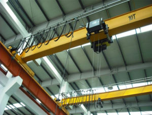 EOT reliable single beam bridge cranes for sale