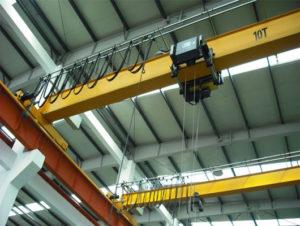 EOT reliable single beam bridge cranes for sale