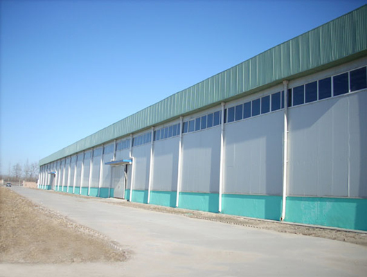 Weihua light steel structure warehouse