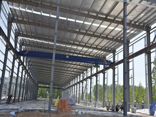 steel structure warehouse from Weihuua