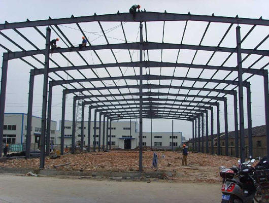 steel structure factory from Weihua