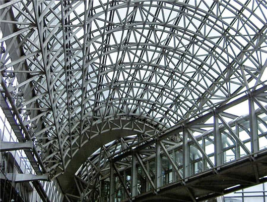 steel truss structure from Weihua