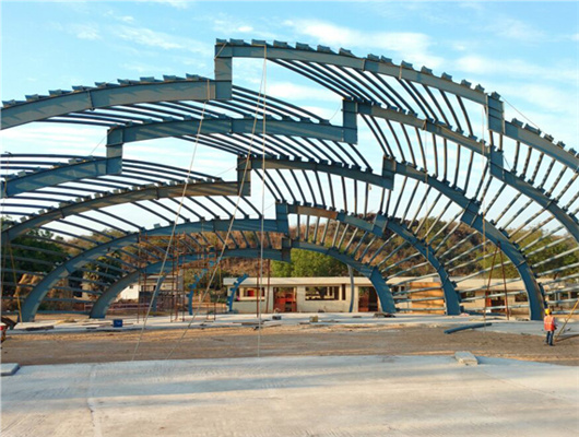 steel structure fabrication for sale