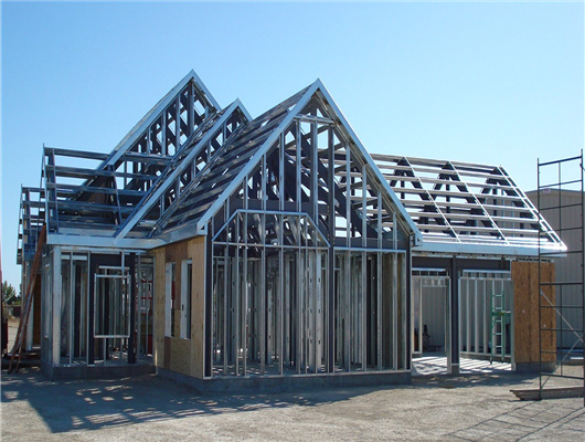 steel structure house for sale