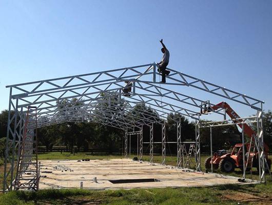 garage steel structure