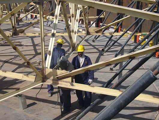 steel structure work