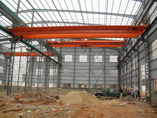 warehouse crane steel structure