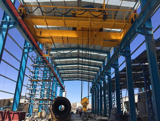 50 Ton Overhead Crane